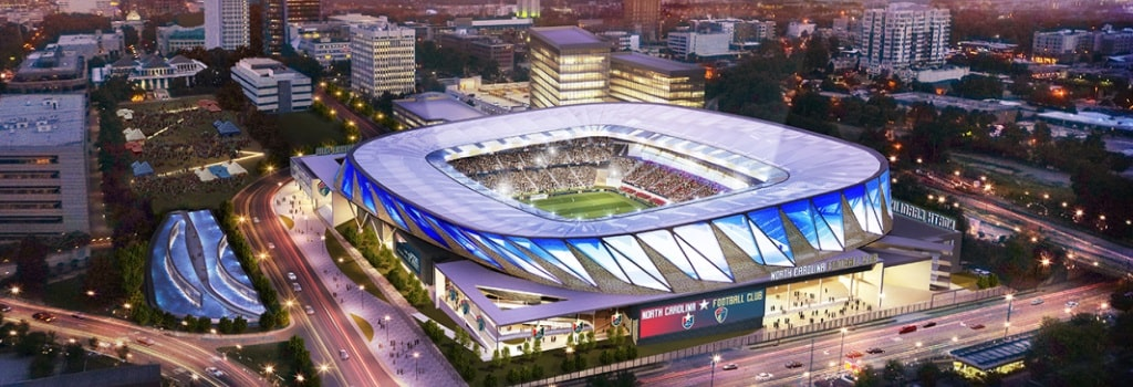North Carolina FC reveal new stadium plans