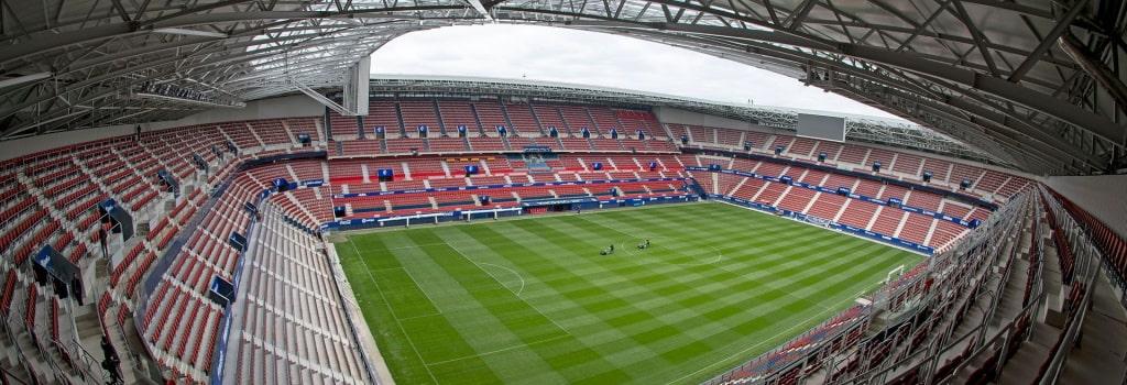 Osasuna stadium expansion completed