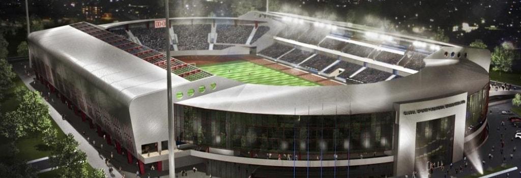 Romanian top flight club to build new stadium