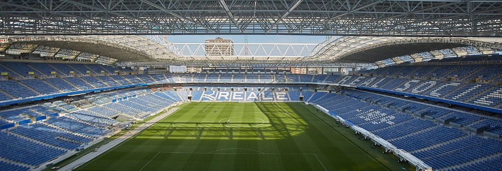 Real Sociedad transform stadium