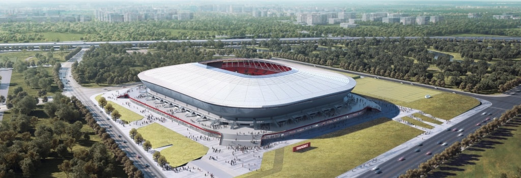 New stadium opens in Pudong, China
