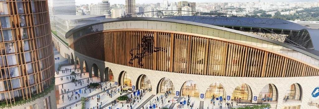 Millwall reveal design for new look Den