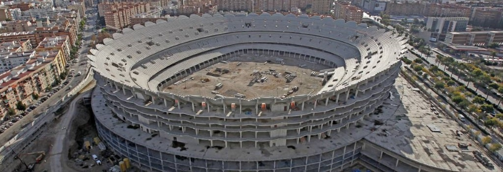 Construction on Valencia's Neuvo Mestalla to start again