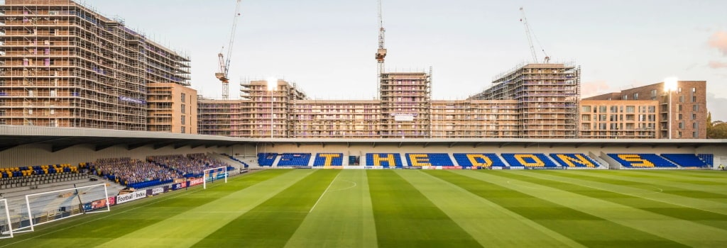 AFC Wimbledon open new Plough Lane stadium