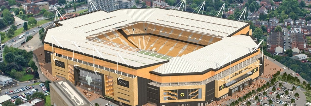 Rennovation plans and safe standing for Molineux