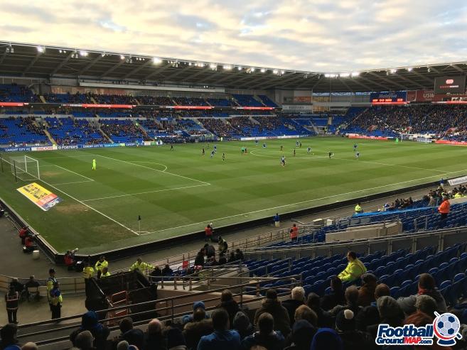 A photo of Cardiff City Stadium uploaded by Uridium