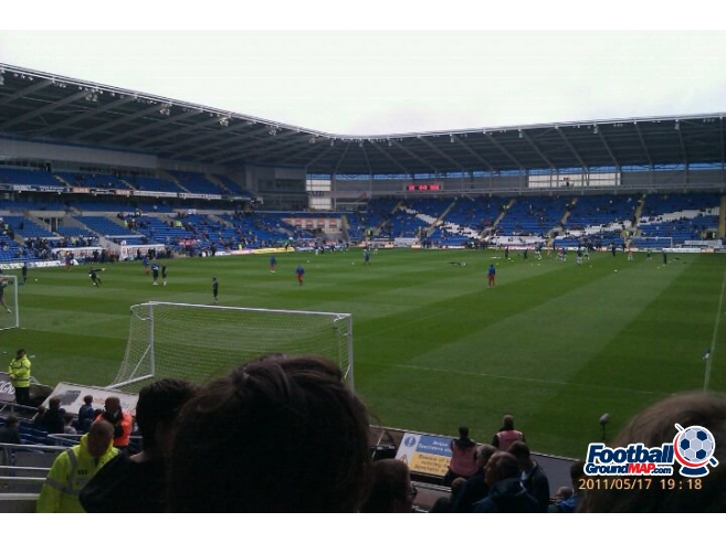 A photo of Cardiff City Stadium uploaded by peter-tucker