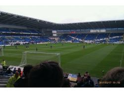 An image of Cardiff City Stadium uploaded by peter-tucker