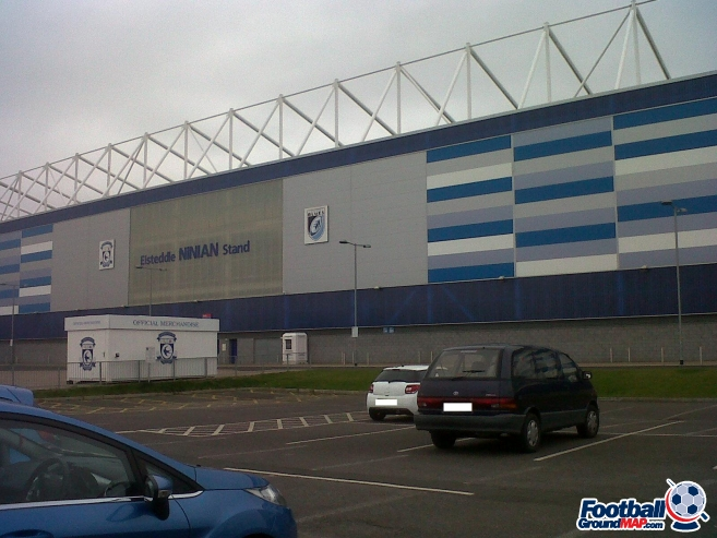 A photo of Cardiff City Stadium uploaded by sfc161