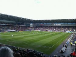 An image of Cardiff City Stadium uploaded by LewisM