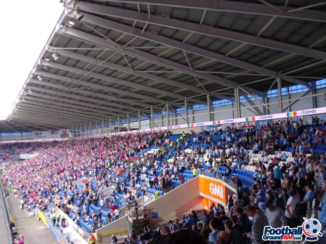 A photo of Cardiff City Stadium uploaded by smithybridge-blue