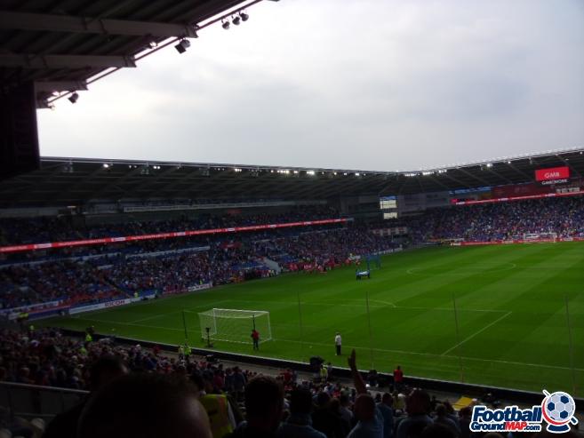 A photo of Cardiff City Stadium uploaded by smithybridge-blue