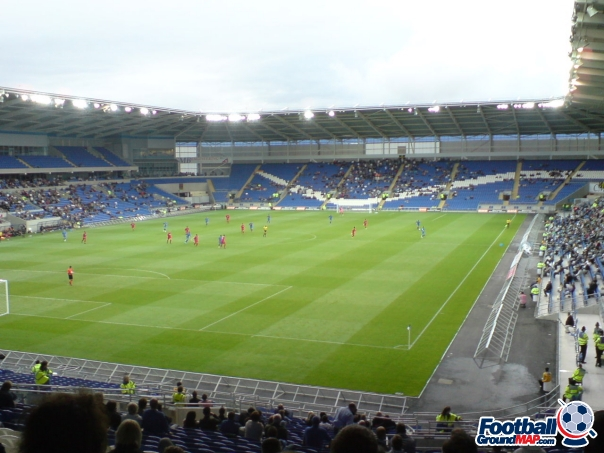 A photo of Cardiff City Stadium uploaded by facebook-user-9669