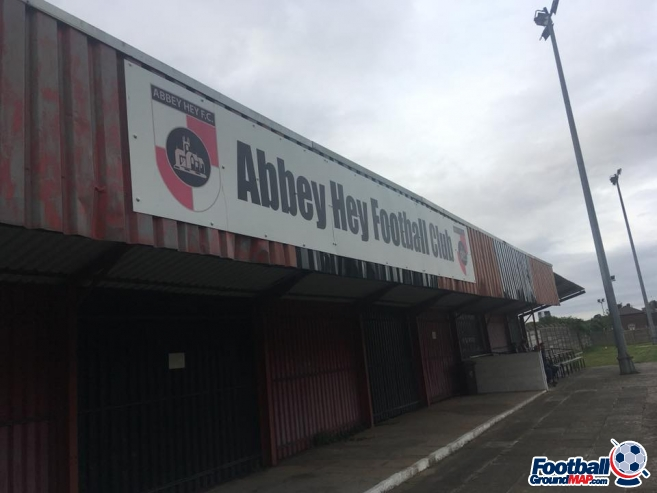 A photo of Abbey Stadium uploaded by foxyusa