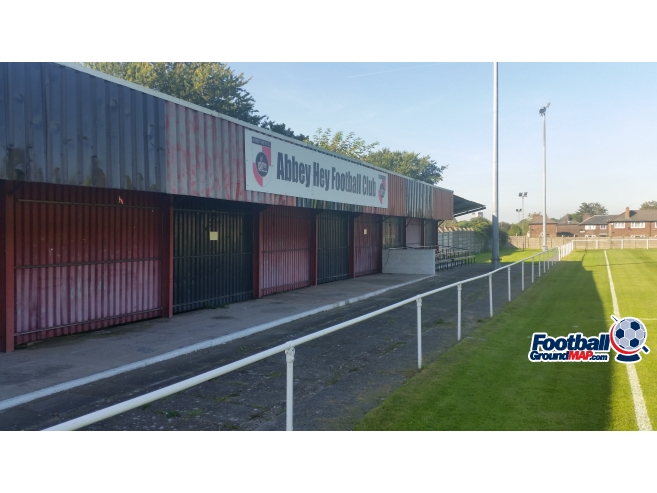 A photo of Abbey Stadium uploaded by ground-rabbit