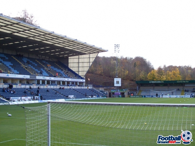 A photo of Adams Park uploaded by chunk9