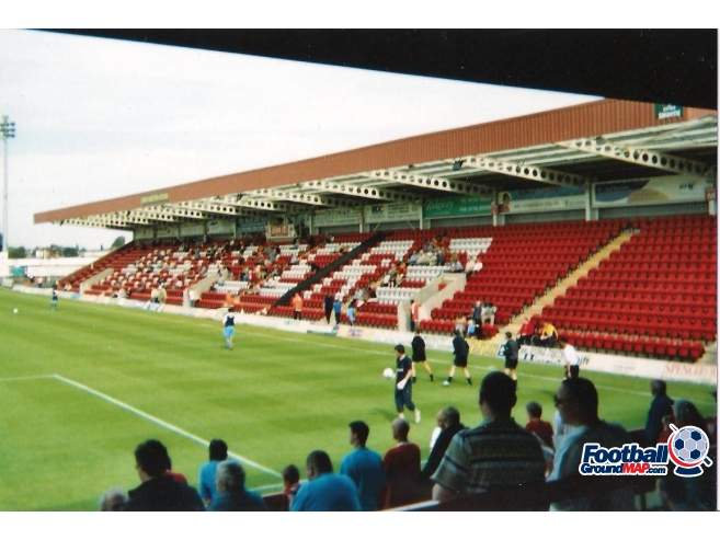 A photo of Aggborough uploaded by scot-TFC