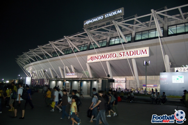 A photo of Ajinomoto Stadium uploaded by newrynyuk