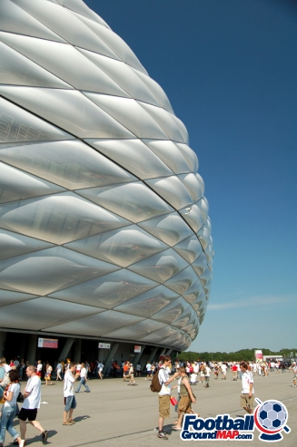 A photo of Allianz Arena uploaded by newrynyuk
