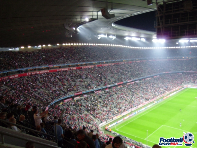A photo of Allianz Arena uploaded by smithybridge-blue