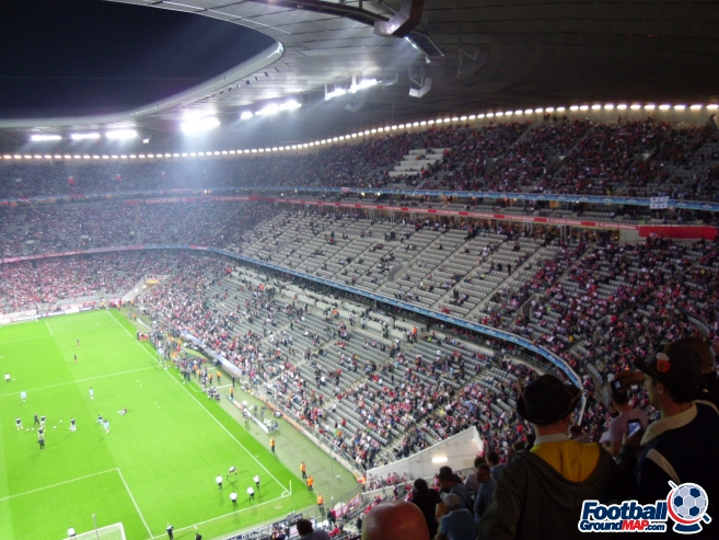 A photo of Allianz Arena uploaded by smithybridge-blue