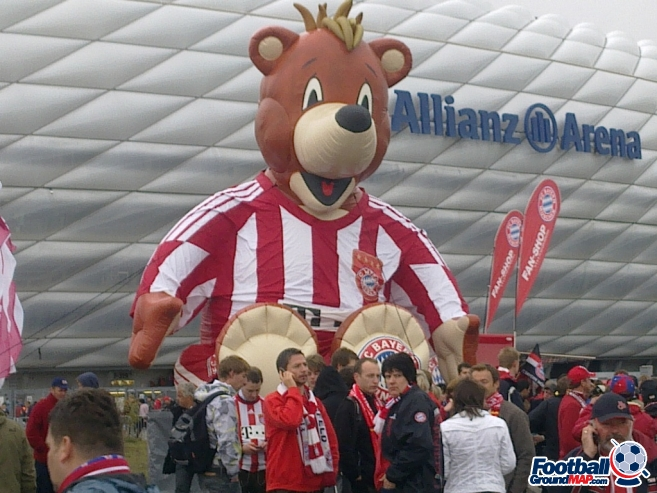 A photo of Allianz Arena uploaded by oldboy