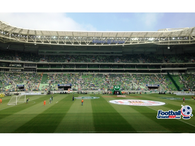 A photo of Allianz Parque uploaded by marcos92uk