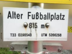 Alter Fussballplatz - Going