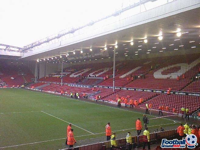 A photo of Anfield uploaded by 36niltv
