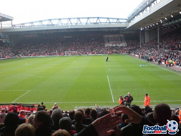 A photo of Anfield uploaded by roverchris