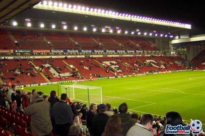 A photo of Anfield uploaded by stuff10