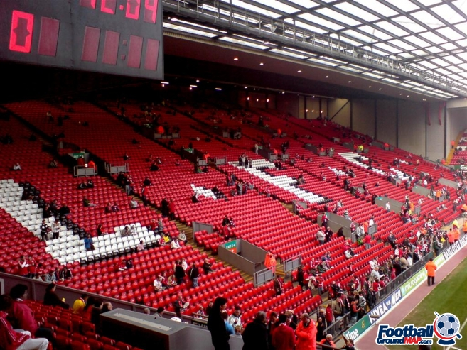 A photo of Anfield uploaded by machacro