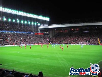 A photo of Anfield uploaded by facebook-user-100186