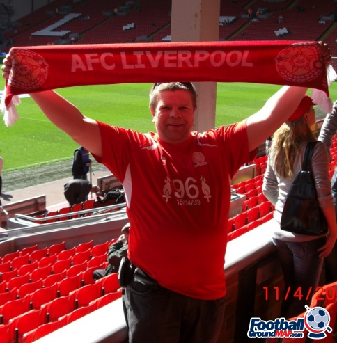 A photo of Anfield uploaded by facebook-user-88955