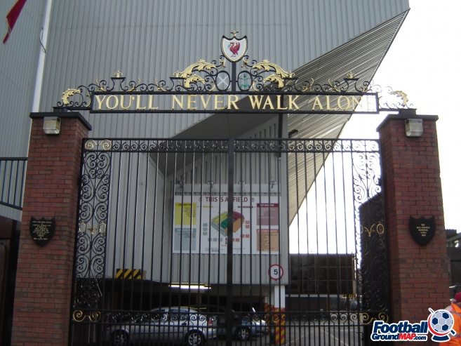 A photo of Anfield uploaded by cirentorres09