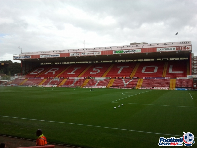 A photo of Ashton Gate uploaded by chunk9