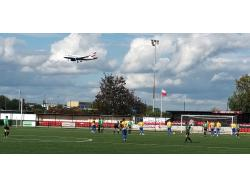 An image of Bedfont Recreation Ground uploaded by jonwoozley