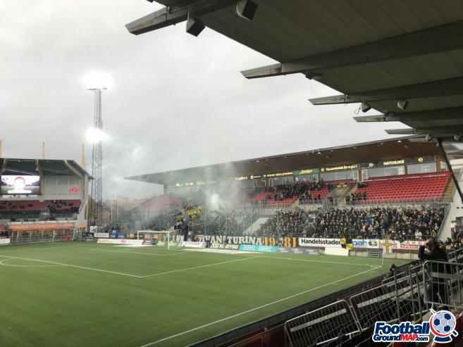 A photo of Behrn Arena uploaded by vileviking