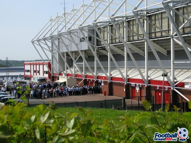 A photo of bet365 Stadium (The Britannia Stadium) uploaded by facebook-user-88328