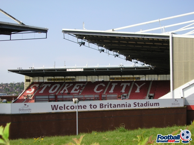 A photo of bet365 Stadium (The Britannia Stadium) uploaded by facebook-user-88328