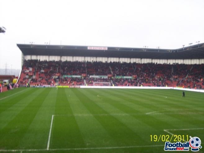 A photo of bet365 Stadium (The Britannia Stadium) uploaded by chunk9