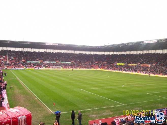 A photo of bet365 Stadium (The Britannia Stadium) uploaded by chunk9