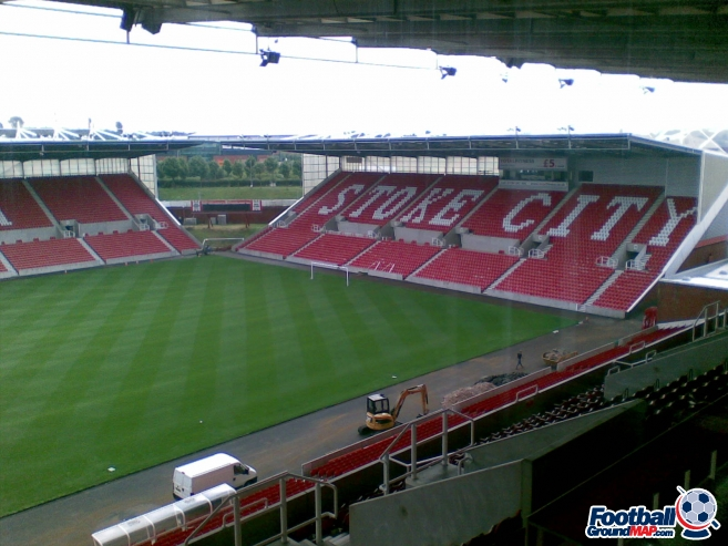 A photo of bet365 Stadium (The Britannia Stadium) uploaded by beershrimper