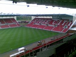 An image of bet365 Stadium (The Britannia Stadium) uploaded by beershrimper