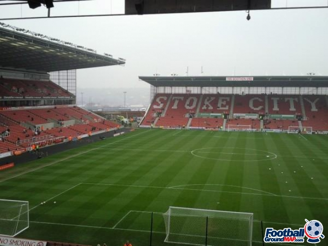 A photo of bet365 Stadium (The Britannia Stadium) uploaded by chloee165