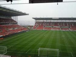 An image of bet365 Stadium (The Britannia Stadium) uploaded by chloee165