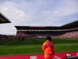 An image of bet365 Stadium (The Britannia Stadium) uploaded by smithybridge-blue