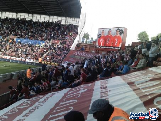 A photo of bet365 Stadium (The Britannia Stadium) uploaded by petrovic80