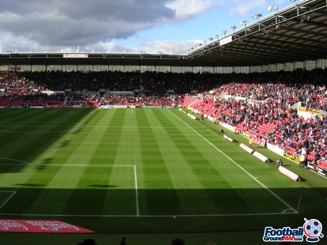 A photo of bet365 Stadium (The Britannia Stadium) uploaded by stuff10