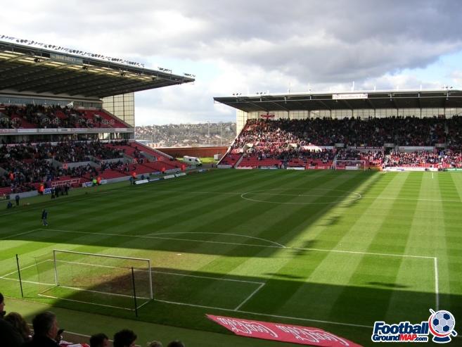 A photo of bet365 Stadium (The Britannia Stadium) uploaded by stuff10